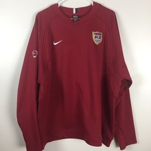 Nike Team USA Soccer 3 Stars Pullover Mens Size XX